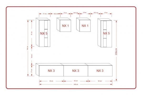 Mueble de salón ONTARIO – Prime-Home España