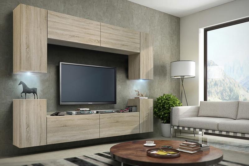 Mueble de salón sonoma » Berg » Prime-Home España | Muebles para el Hogar y Oficina | www.prime-home.es