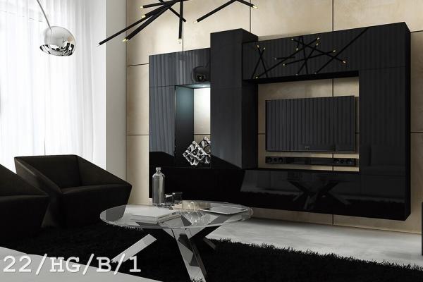 Mueble de salón SIZE negro – Prime-Home España | Muebles para el Hogar y Oficina | www.prime-home.es
