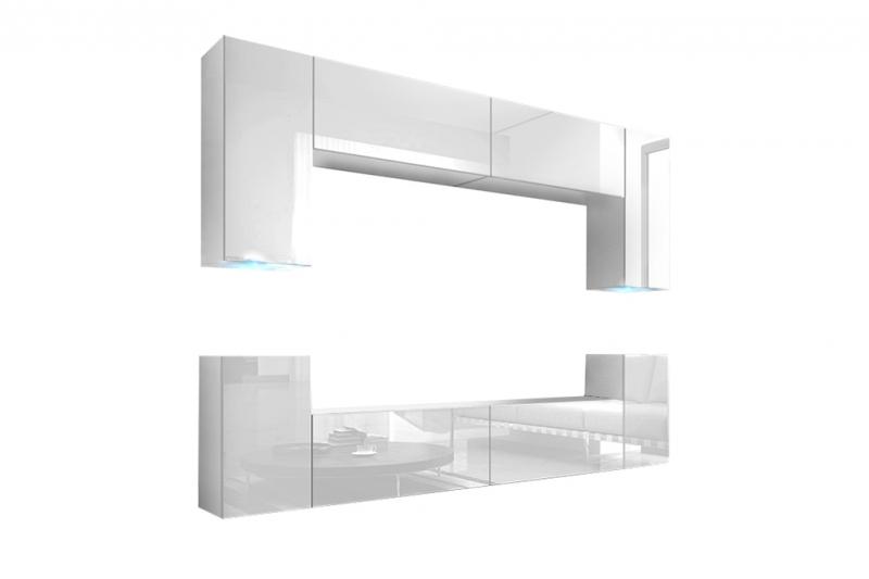 Mueble de salón blanco brillante | BERG Prime-Home España | Muebles para el Hogar y Oficina | www.prime-home.es