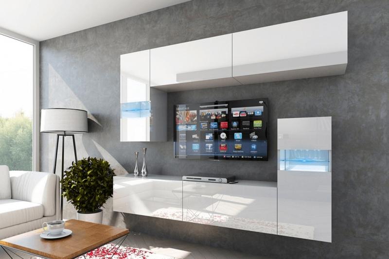 Mueble de salón ENEA blanco brillante– Prime-Home España | Muebles para el Hogar y Oficina | www.prime-home.es