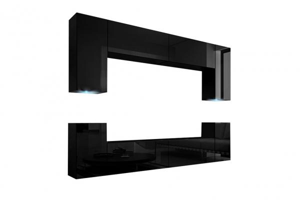 Mueble de Salón Berg –Negro Brillante » Prime-Home España | Muebles para el Hogar y Oficina | www.prime-home.es