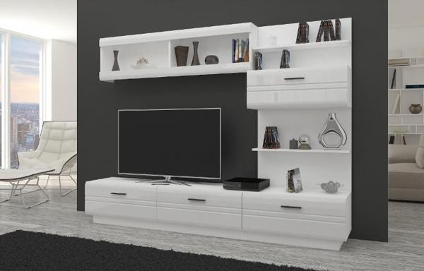Mueble de salón comedor ALEXIA - blanco