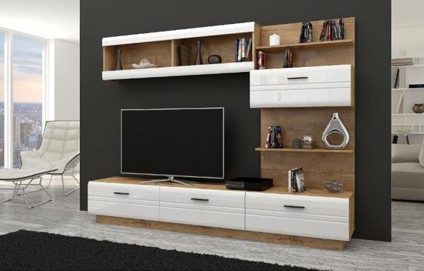 Mueble de salón comedor ALEXIA roble – Prime-Home – Muebles España