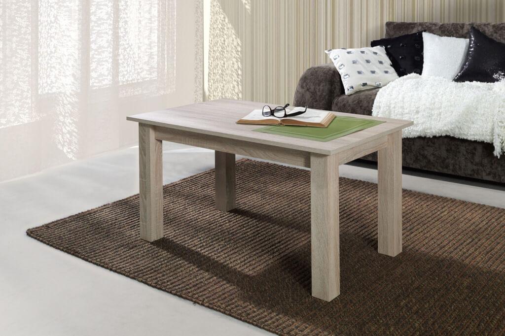 Mesa de centro lara roble prime home espa a muebles para casa - Mesa salon roble ...